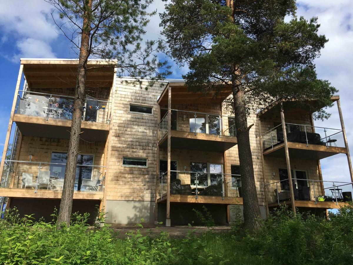 Lusthusbacken, Piteå. Nominerat Årets Bygge 2019