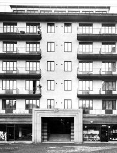 Ursprungliga balkongräcken Alströmergatan 32 Kungsholmen Sthlm.